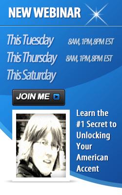 American Accent webinar